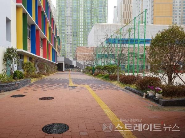 ◇병설유치원이 있는 고운초등학교. (사진=이준혁 기자)